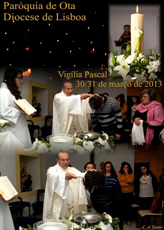 Vigília Pascal - 2013