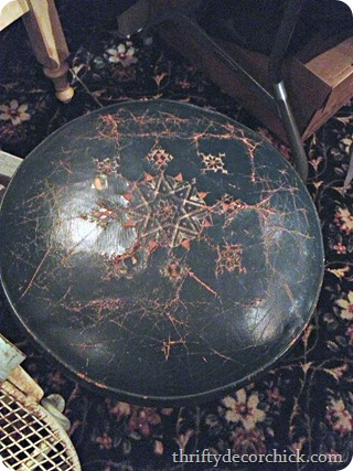 leather ottoman