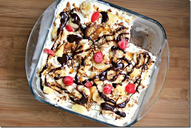 Banana Split Ice Cream Cake2