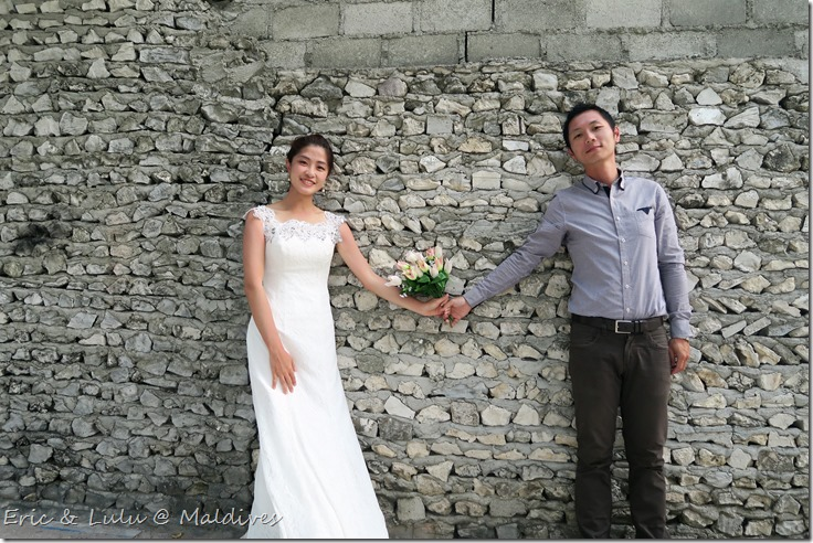 馬爾地夫腳架婚紗 (6)