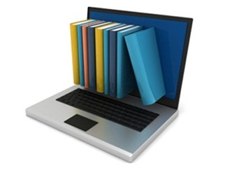 e-learning-laptop-books