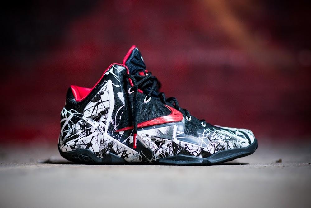... 8220Graffiti8221 Release Reminder Nike LeBron 11 Miami Heat  8220Graffiti8221 6aea7970d