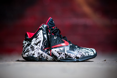 nike lebron 11 gr freegums graffiti 8 01 Release Reminder: Nike LeBron 11 Miami Heat Graffiti