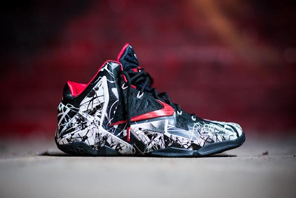Release Reminder Nike LeBron 11 Miami Heat 8220Graffiti8221