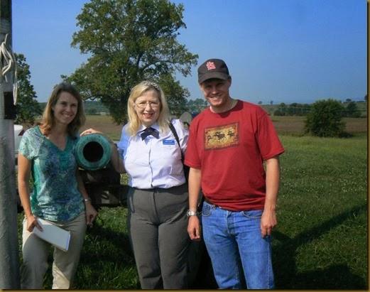 Gettysburg Battlefield with Linda