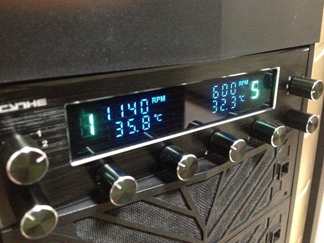 Fan controller installed