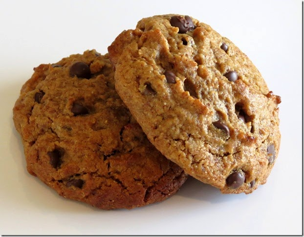 Grain Free Almond Butter Chocolate Chip Cookies 2