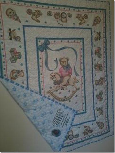 Baylees first quilt