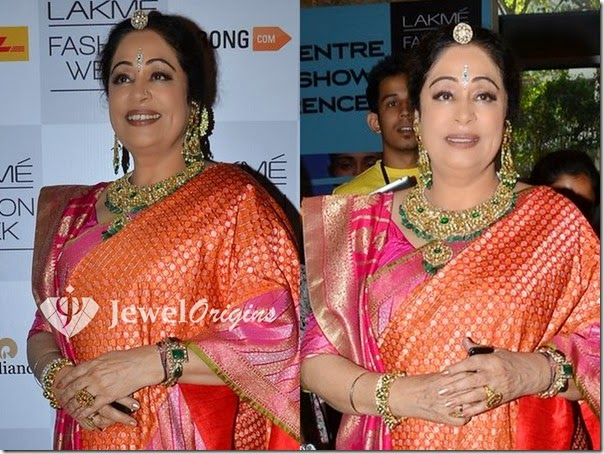 Kirron_Kher_Gold_Jewellery