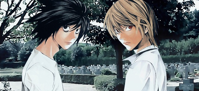 Death Note L e Light Anime Fantasia BR