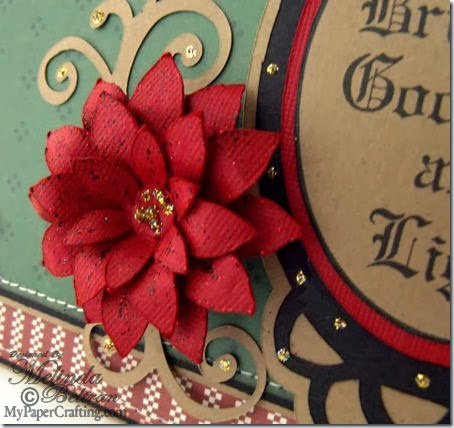 poinsettia svg flower cu-450