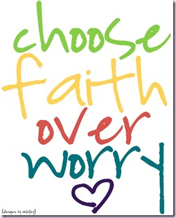 choose faith