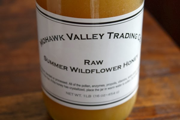 raw summer honey