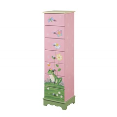 Teamson  7 drawer cabinet Magic Garden Collection