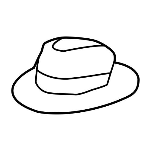 Dibujos Para Colorear De Sombrero