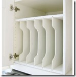 DIY - Above Fridge Tray Divider-