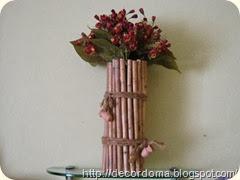 Декорируем вазу в этническом стиле своими руками 11