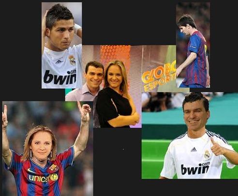 Giovani Ronaldo e Suyanne Messi