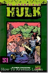 P00031 - Coleccionable Hulk #31 (de 50)