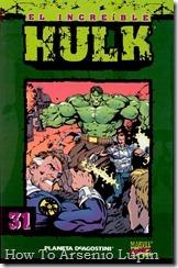 P00031 - Coleccionable Hulk #31 (de 50)