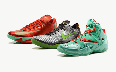 nike lebron 11 xx christmas pack 6 13 Release Reminder: Nike LeBron 11 Christmas Pack