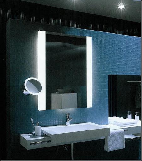 el espejo apropiado para tu bao estar al tamao del bao y al tamao del mostrador donde se encuentra el lavatorio