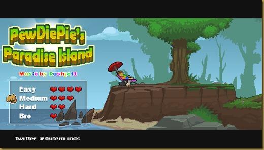 PewDiePie's Paradise Islandタイトル