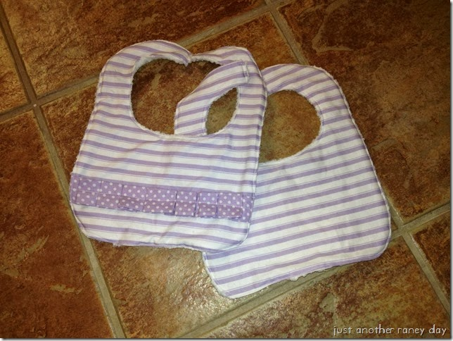 Homemade Baby Bibs