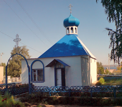 Трехсвятская церковь с.Ижевка