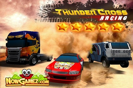 Thunder Cross Racing 3D- screenshot