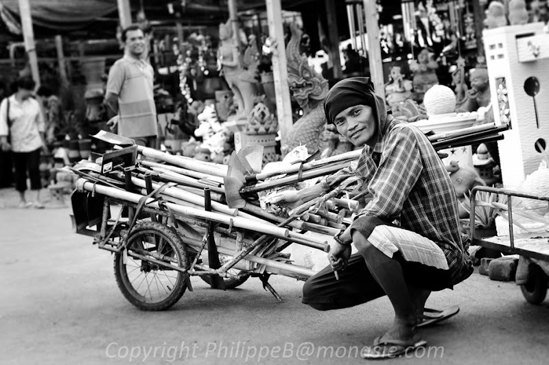 Flower Market Vendor