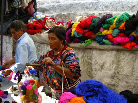 Guatemala: The market from Chichi
