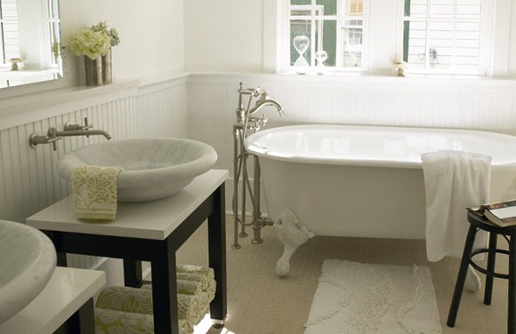 baños con estilo ecléctico