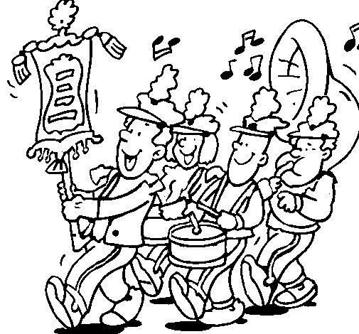 COLOREAR BANDAS DE MUSICA