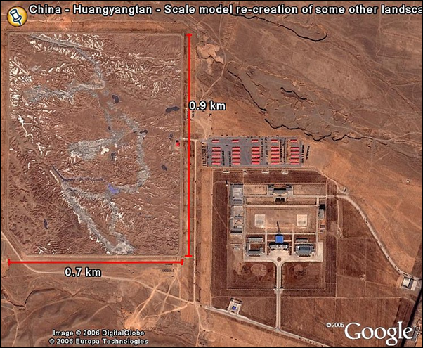 Que construisent les Chinois dans le désert du Gansu -7