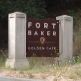 Lunch stop at Fort Baker