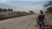 Sand auf der Routa 40