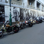 motorbikes in Harajuku in Harajuku, Tokyo, Japan