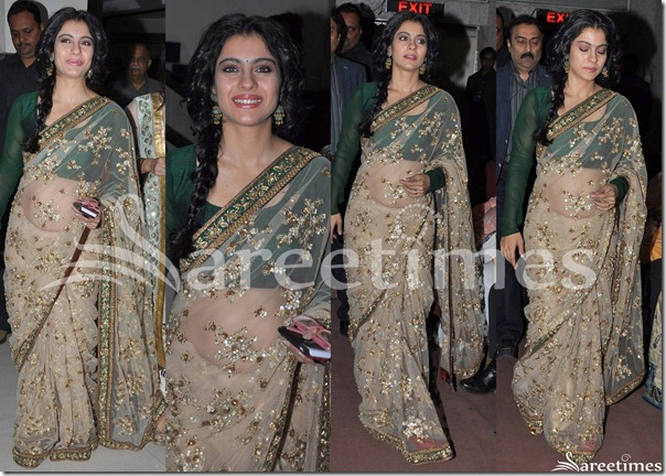 Kajol_Sabyasachi_Saree