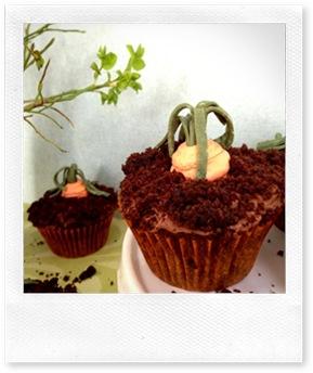 Saftiga chokladcupcakes