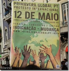 Primavera Global Protesto 12 de Maio.Mai.2012