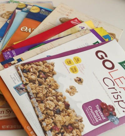 cereal boxes tutorial