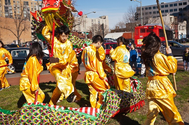 2012 Chinese New Year Parade Washington DC-1