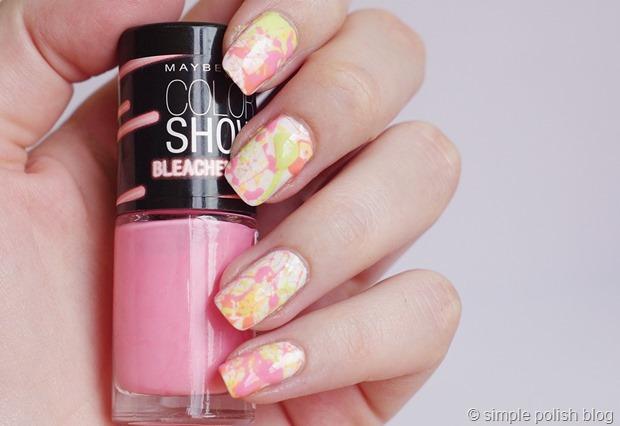 Nail-Art-Splatter-Nails-Bleached-Neons-1