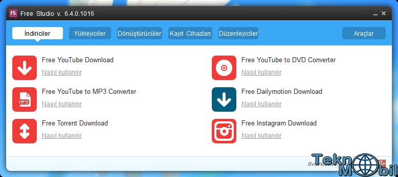 Free Studio Türkçe v6.4.0.1016