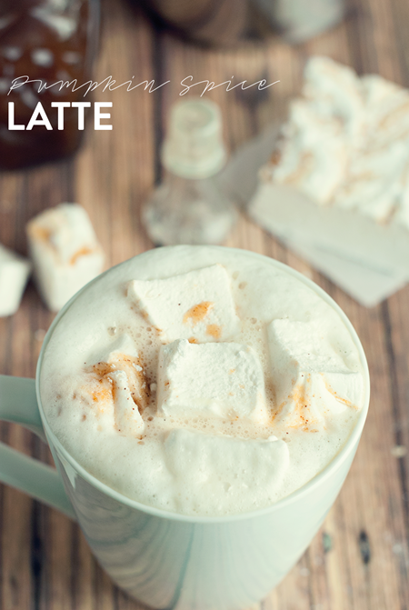 A Simple Pantry Pumpkin Spice Latte