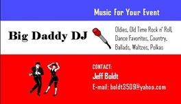 Big Daddy DJ card picture