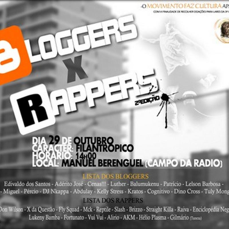 Bloggers X Rappers (2ªEdição) [Hoje]