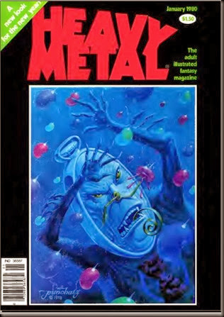 Heavy metal January 80
