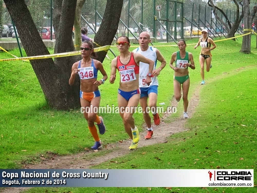 Copa Nacional Cross Country Bogota 2014